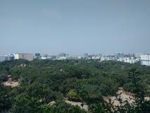 Städtischer Wald Hyderabads Indien Stockfotos