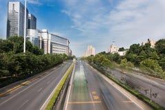 Städtisches Fast Track lizenzfreie stockfotos