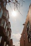 Städtisches Gebäude Stockfotos