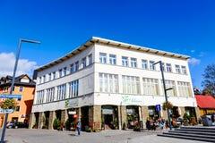 Städtisches Gebäude in Zakopane Stockbilder