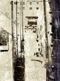 Städtisches grunge Lizenzfreie Stockbilder