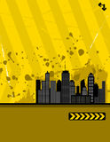 Städtisches grunge Lizenzfreies Stockfoto