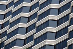 Städtisches Haus oder Gebäude, Fassadenmuster Stockfotos
