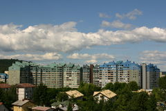 Städtisches Kapital Lizenzfreies Stockfoto