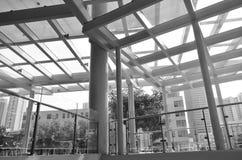 Städtisches Leitungsstrukturen stockfotos