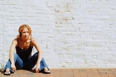 Städtisches Mädchen Stockfoto