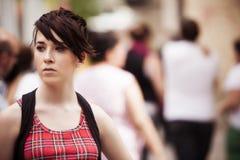 Städtisches Mädchenporträt Lizenzfreies Stockfoto