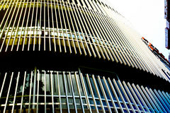 Städtisches Muster - Gebäude Stockfotografie