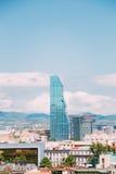 Städtisches Stadtbild Radisson Blu Hotel On Background Of von Tiflis, stockfotos