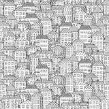 Städtisches Stadtlandschaftsmuster-Beschaffenheitselement stockfoto