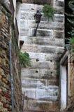 Städtisches szenisches von Verona mit Straßenlaterne Lizenzfreie Stockfotografie