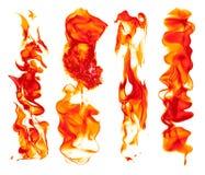 Ställ in av brandslaglängder - perfekta brandslaglängder för varm illustration royaltyfri foto