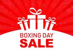 Ställ in av symbol eller symboler för försäljning för boxningdag Calligraphic design av försäljningen för boxningdag vektor illustrationer