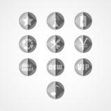 Ställ in begreppsrengöringsduksymbolen Fotografering för Bildbyråer