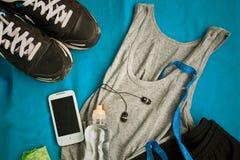 Ställ in för sportaktiviteter Fotografering för Bildbyråer