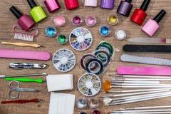 Ställ in garnering för spikar design Fotografering för Bildbyråer