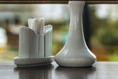 Ställ in med salt och peppar Royaltyfri Fotografi