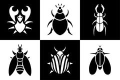 Ställ in med små djur royaltyfri illustrationer