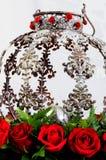 Ställ in rosor Royaltyfria Bilder