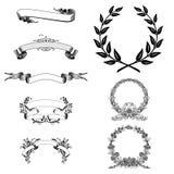 ställ in segern royaltyfri illustrationer