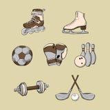 ställ in sporten Arkivbild