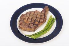 ställ in steak royaltyfri bild