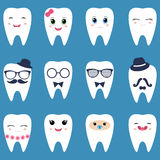 ställ in tänder Fotografering för Bildbyråer