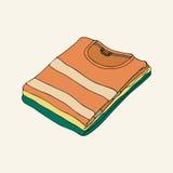 Ställ in T-tröja vektor illustrationer