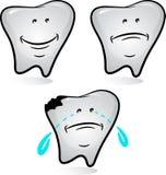 ställ in tanden Arkivbild