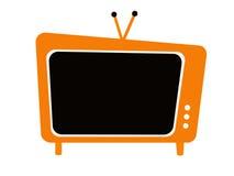 ställ in televisionen Royaltyfria Bilder