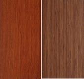 ställ in texturer trä Royaltyfria Bilder