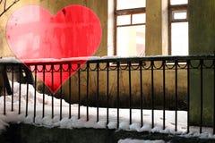 Ställ in valentin bakgrund, hjärta, valentindagförälskelse Royaltyfri Foto