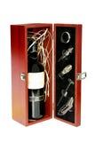 ställ in wine Arkivbild