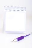 ställ in writing Royaltyfria Bilder