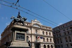 Ställe av Borsa, Naples Royaltyfri Foto