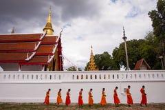 Ställe av vördnad till Buddha Arkivbilder