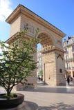 Ställe Darcy och Porten Guillaume, Dijon, Frankrike Royaltyfri Fotografi