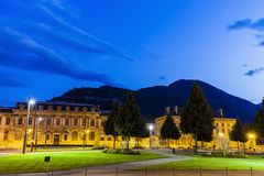 Ställe de Verdun i Grenoble Royaltyfri Bild