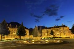 Ställe de Verdun i Grenoble, Frankrike Fotografering för Bildbyråer