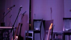 Ställe för musiker stock video