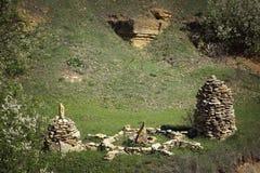 Ställe för ritualer och ceremonier Arkivbild