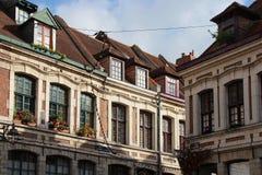 Ställe hjälpOignons - Lille - Frankrike Arkivfoto
