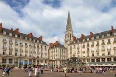 Ställe Royale de Nantes Arkivfoto