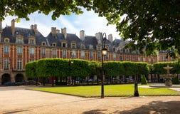 Ställedes Vosges förlägger Royale, Paris, Frankrike Royaltyfri Fotografi
