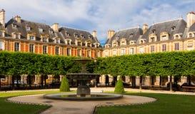 Ställedes Vosges förlägger Royale, Paris, Frankrike Royaltyfria Foton