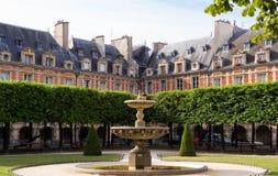 Ställedes Vosges förlägger Royale, Paris, Frankrike Royaltyfri Bild