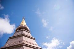 Ställefritidlopp i ett Inthanon berg Royaltyfria Bilder