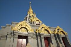 Ställen av pagoden för dyrkanBuddhareliker Royaltyfria Bilder