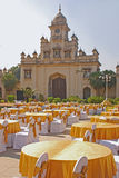 Ställen för funktion, för parti eller för ceremoni offentligt royaltyfria foton
