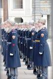 Ställen för lopp för Prague soldatstad viktiga Royaltyfri Bild